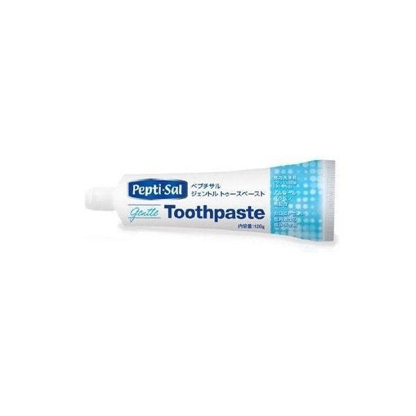 口腔ケアジェル ペプチサル ジェントル トゥースペースト 126g 介護 口腔ケア用品