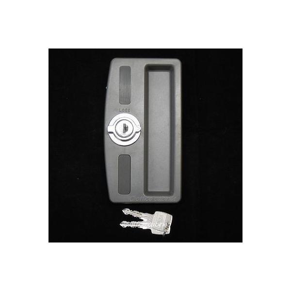 【錠前】イナバ物置(INABA) MBW用 物置錠 錠前セット 鍵2本付き cabinet 02