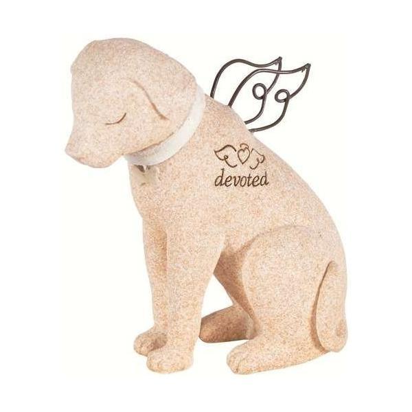 ペット メモリアル グッズ 心を癒してくれる犬 お墓 墓石 devoted 置き物 人形 [並行輸入品]|cacaoshop|02