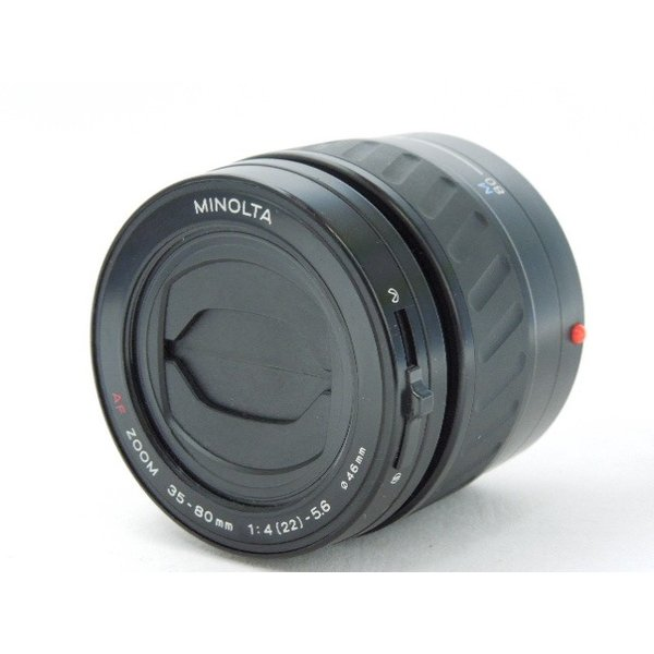 ミノルタ中古オートフォーカス交換レンズ MINOLTA AF ZOOM 35-80mm F4-5.6 良品