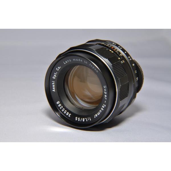 ペンタックス  PENTAX Super-Takumar 55mm F1.8 中古マニュアルレンズ 並品