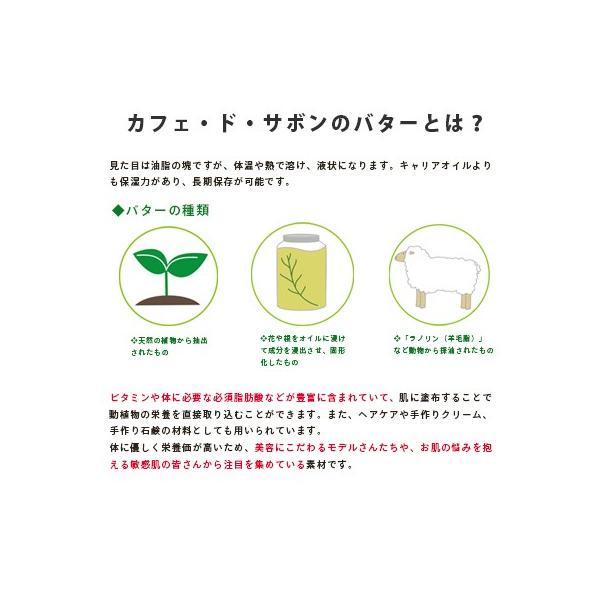 (ネコポス送料無料)カフェ・ド・サボンのバタービュッフェ 4種類選べるお試しアロマバターセット(ポストお届け可/25)|cafe-de-savon|04