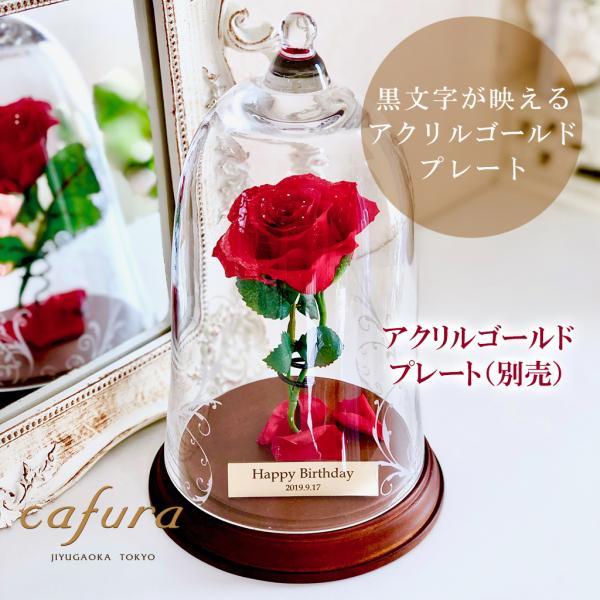プリザーブドフラワー 1輪のバラ 美女と野獣 1本バラ 天然ダイヤ付き ブリザードフラワー プロポーズ 記念日|cafura|14