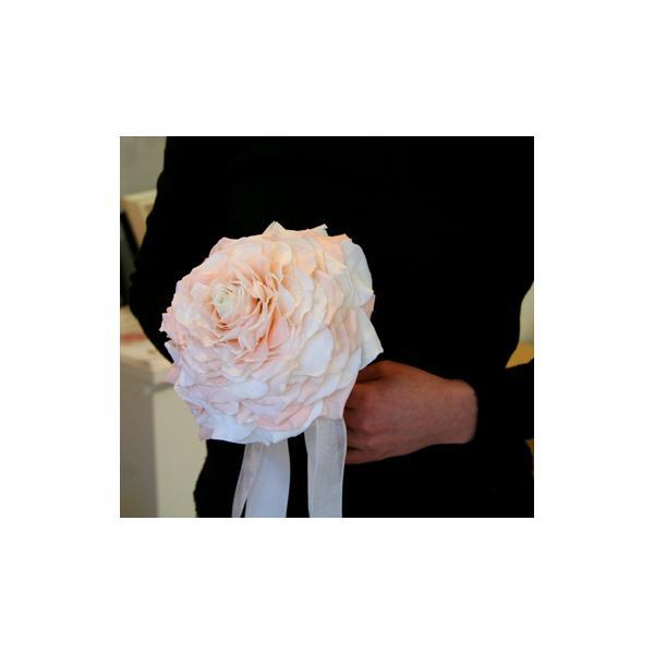プリザーブドフラワー メリアブーケ(ピンク×ホワイト) |cafura|03