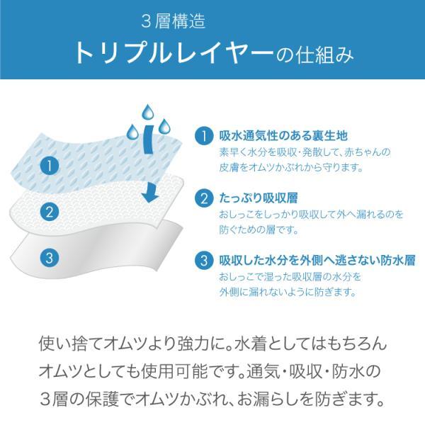 ベビー 水着 男の子 スイムトランクス 海パン 水遊び用オムツ 水遊びパンツ アイプレイ ベビー水着 オムツ機能付 70 80 90 i play Pocket Trunks|caizu-corporation|13