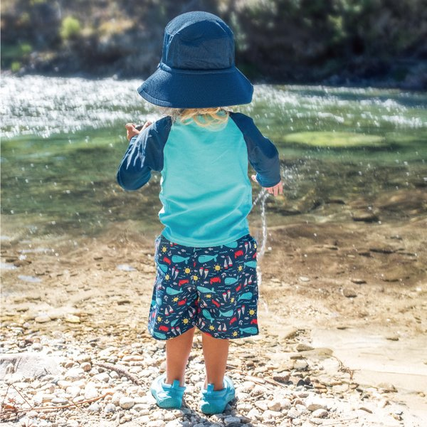 ベビー 水着 男の子 スイムトランクス 海パン 水遊び用オムツ 水遊びパンツ アイプレイ ベビー水着 オムツ機能付 70 80 90 i play Pocket Trunks|caizu-corporation|17
