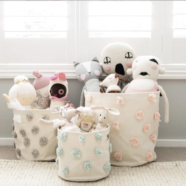 おもちゃ 収納 ボックス おしゃれ おむつポーチ おむつ 収納 Pehr ペア BINS ビンズ Lサイズ|caizu-corporation|09
