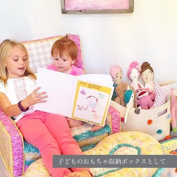 おもちゃ 収納 ボックス 収納ボックス おしゃれ ランドリーボックス Pehr ペア ドラム DRUM XLサイズ|caizu-corporation|09