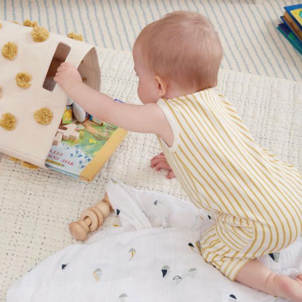 おもちゃ 収納 おむつポーチ おむつ 収納 ボックス おしゃれ Pehr ペア ミニズ Minis|caizu-corporation|02