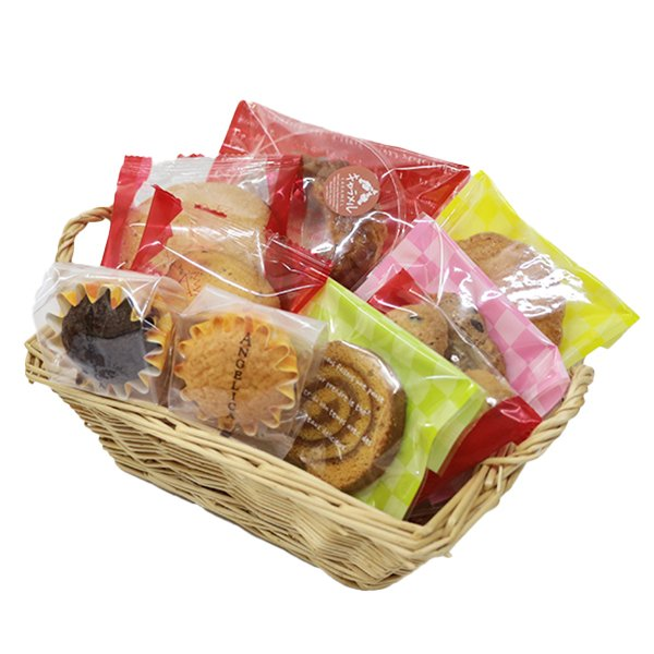 ブリキポッド(焼き菓子9個入り)プレゼント ギフト 贈り物 誕生日 手土産 洋菓子 クッキー フィナンシェ 詰合せ|cake-angelica|02