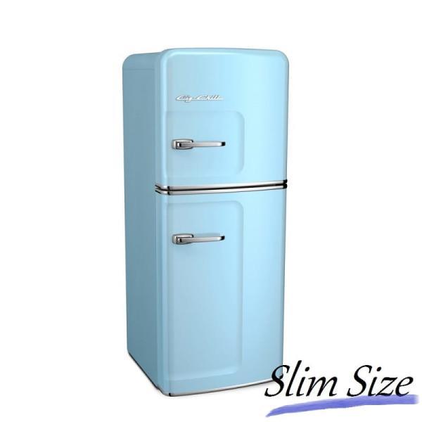 SMEG(スメッグ)よりもビックチリ アメリカ レトロ 冷凍 冷蔵庫 おすすめ おしゃれ ビンテージ アンティーク クラシック Retro Refri