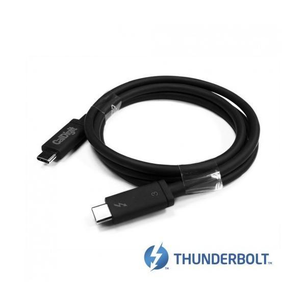 CalDigit Thunderbolt 3 ケーブル (2.0m, 6.56 ft) 40Gbps / 100W充電 / 5A / 20V / アクティブケーブル|caldigit-japan|02
