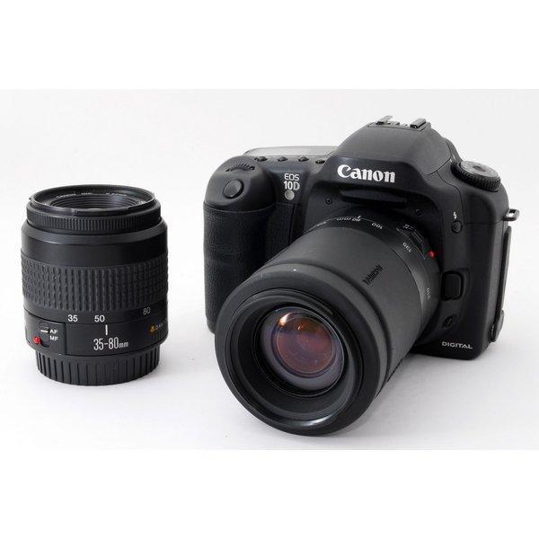 キヤノン Canon EOS 10D ダブルズームセット 美品