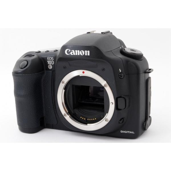 キヤノン Canon EOS 10D ダブルズームセット 極上美品 新品CFアダプター、新品8GB SDカード、元箱付き