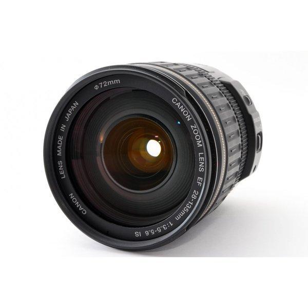 CANON EF 28-135mm F3.5-5.6 IS USM レンズ 極上美品 キャノン EFマウント 広角 望遠 ズーム 交換レンズ