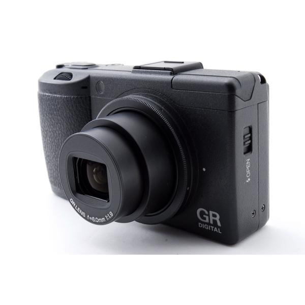 リコー RICOH デジタルカメラ GR DIGITAL III GRDIGITAL3 新品SDカード付き