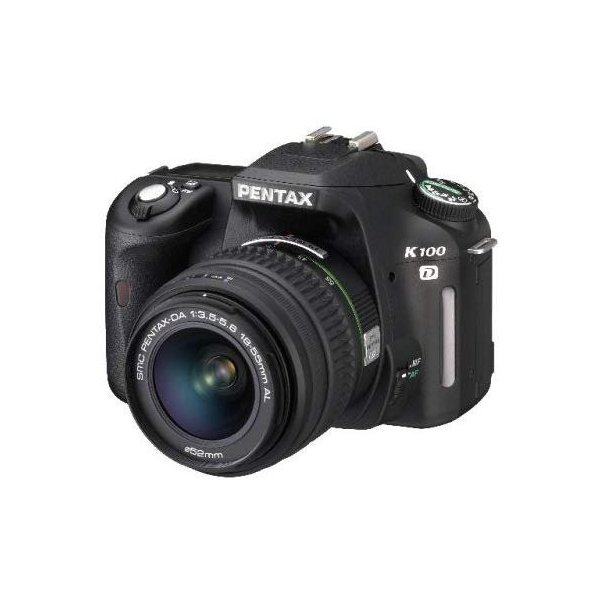 ペンタックス PENTAX K100D レンズキット SDカード付き <プレゼント包装承ります>