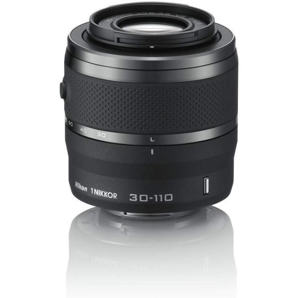 ニコン Nikon 望遠ズームレンズ 1 NIKKOR VR 30-110mm f/3.8-5.6 ブラック ニコンCXフォーマット専用  <プレゼント包装承ります>