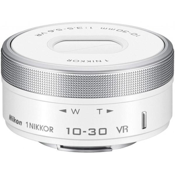 ニコン Nikon 標準ズームレンズ1 NIKKOR VR 10-30mm f/3.5-5.6 PD-ZOOM ホワイト 1NVR10-30PDWH <プレゼント包装承ります>
