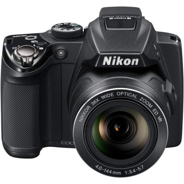 ニコン Nikon COOLPIX P500 ブラック P500 SDカード付き <プレゼント包装承ります>