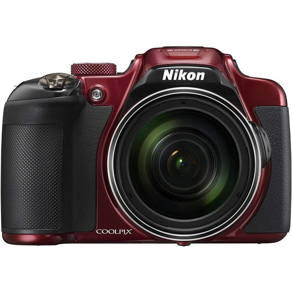 ニコン Nikon COOLPIX P610 光学60倍 1600万画素 レッド  SDカード付き <プレゼント包装承ります>
