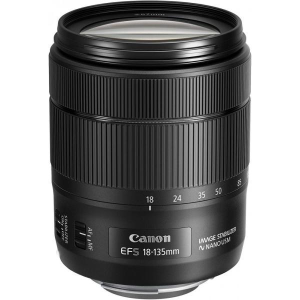 キヤノン Canon 標準ズームレンズ EF-S18-135mm F3.5-5.6 IS USM APS-C対応