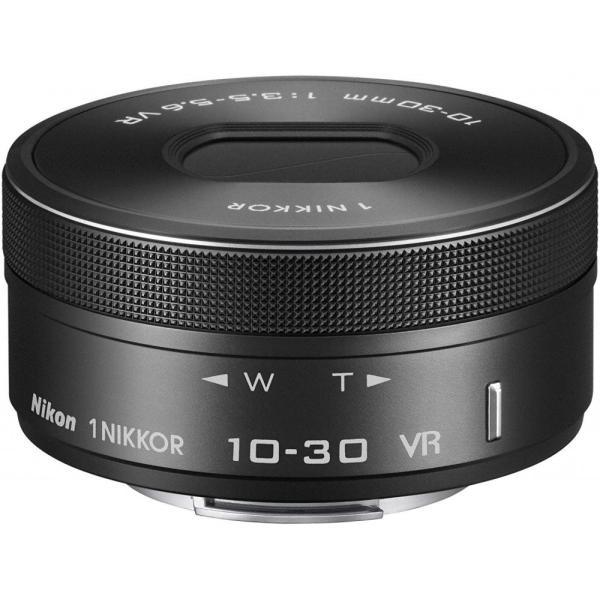 ニコン Nikon 標準ズームレンズ1 NIKKOR VR 10-30mm f/3.5-5.6 PD-ZOOM ブラック 1NVR10-30PDBK <プレゼント包装承ります>