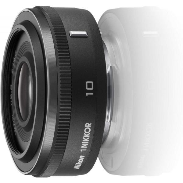 ニコン Nikon 単焦点レンズ 1 NIKKOR 10mm f/2.8 ブラック ニコンCXフォーマット専用