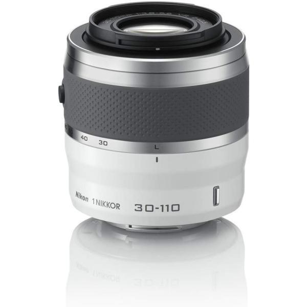 ニコン Nikon 望遠ズームレンズ 1 NIKKOR VR 30-110mm f/3.8-5.6 ホワイト ニコンCXフォーマット専用  <プレゼント包装承ります>