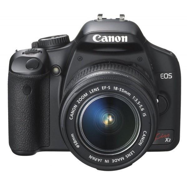 キヤノン Canon EOS Kiss X2 レンズキット KISSX2-LKIT SDカード付き <プレゼント包装承ります>