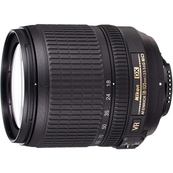 ニコン Nikon 標準ズームレンズ AF-S DX NIKKOR 18-105mm f/3.5-5.6G ED VR ニコンDXフォーマット専用 <プレゼント包装承ります>
