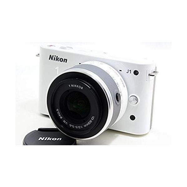 ニコン Nikon   J1   標準ズームレンズキット ホワイトN1 J1HLK WH 新品SDカード付き <プレゼント包装承ります>