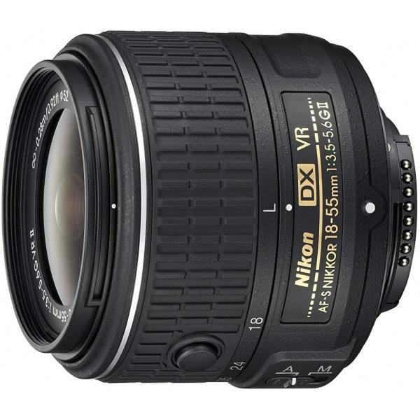 ニコン Nikon 標準ズームレンズ AF-S DX NIKKOR 18-55mm f/3.5-5.6G VR II ニコンDXフォーマット専用 <プレゼント包装承ります>