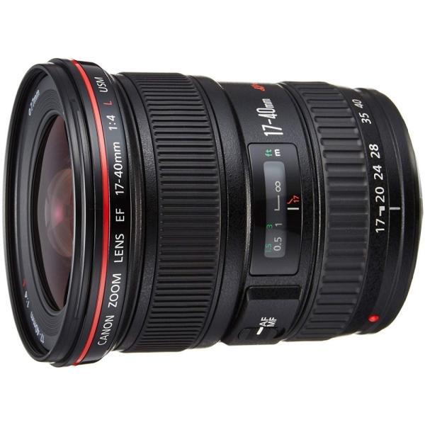 キヤノン Canon 広角ズームレンズ EF17-40mm F4L USM フルサイズ対応