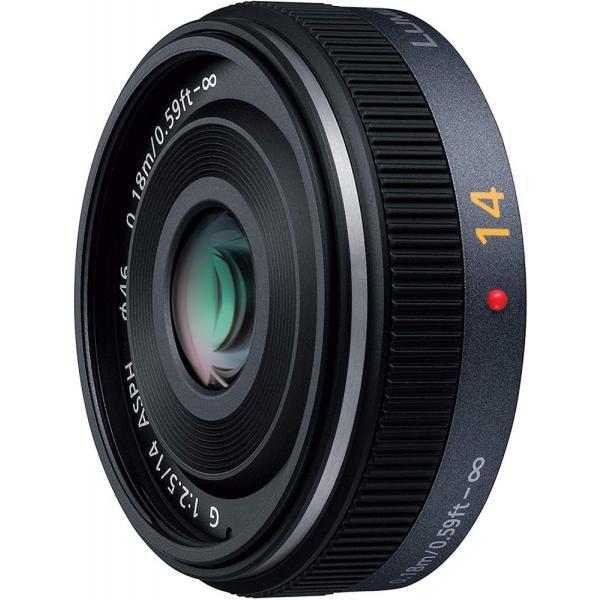 パナソニック Panasonic 単焦点 広角パンケーキレンズ G 14mm/F2.5 ASPH. H-H014 <プレゼント包装承ります>