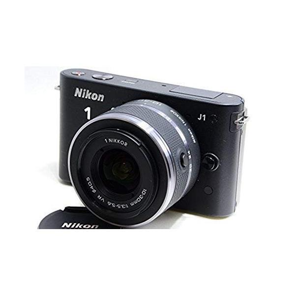 ニコン Nikon   J1   標準ズームレンズキット ブラックN1 J1HLK BK 新品SDカード付き <プレゼント包装承ります>