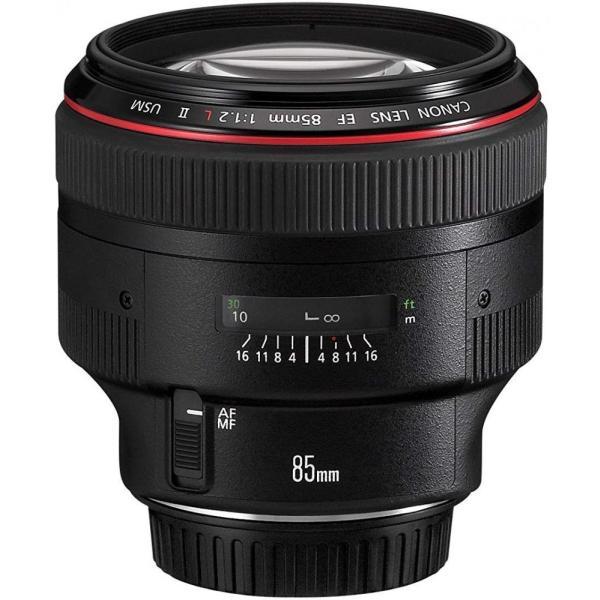 キヤノン Canon 単焦点レンズ EF85mm F1.2L II USM フルサイズ対応 <プレゼント包装承ります>|camera-fanksproshop