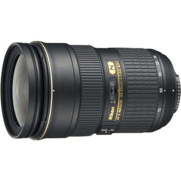 ニコン Nikon 標準ズームレンズ AF-S NIKKOR 24-70mm f/2.8G ED フルサイズ対応 <プレゼント包装承ります>