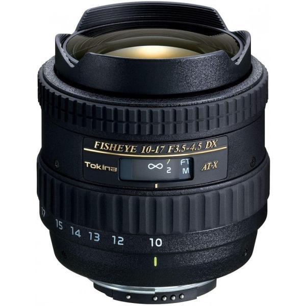 トキナー Tokina 魚眼ズームレンズ AT-X 107 DX Fisheye 10-17mm F3.5-4.5 (IF) ニコン用 APS-C対応 <プレゼント包装承ります>