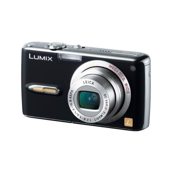 パナソニック Panasonic FX07 エクストラブラック DMC-FX07-K 新品SDカード付き <プレゼント包装承ります>