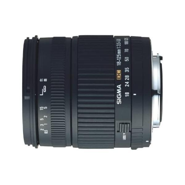 シグマ 18-125mm F3.5-5.6 DC デジタル専用 キヤノン用