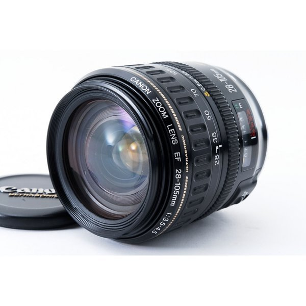 キヤノン Canon EF 28-105mm f/3.5-4.5 USM 美品 標準ズームレンズ   <プレゼント包装承ります>