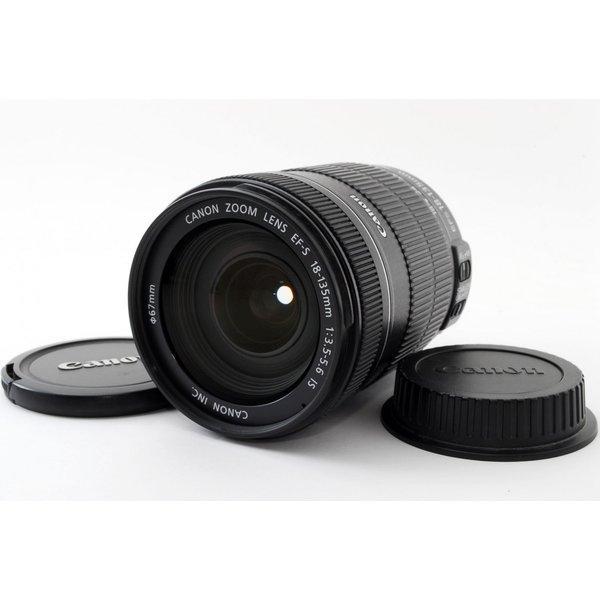 キヤノン CANON EF-S 18-135mm F3.5-5.6 IS 美品 高倍率標準ズームレンズ