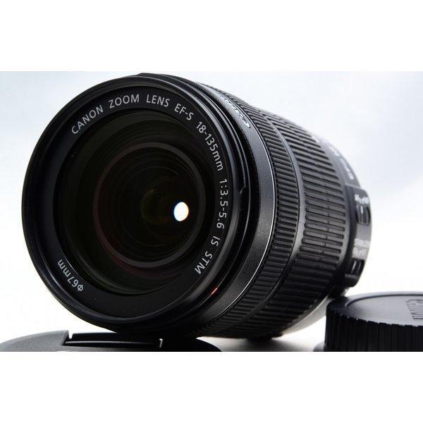 キヤノン Canon EF-S 18-135mm F3.5-5.6 IS STM 美品 高倍率標準ズームレンズ <プレゼント包装承ります>