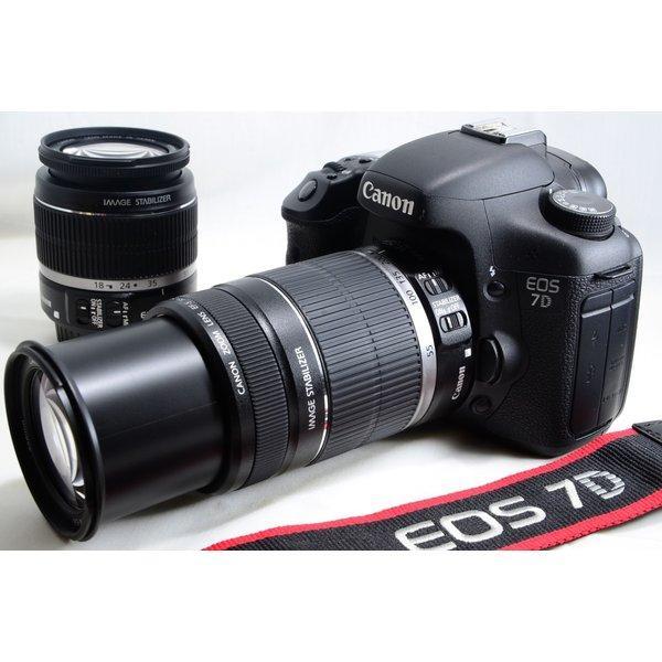 世界称賛の高速連写 極上品 キヤノン Canon EOS 7D ダブルズームキット 大人気入荷 [jkh]