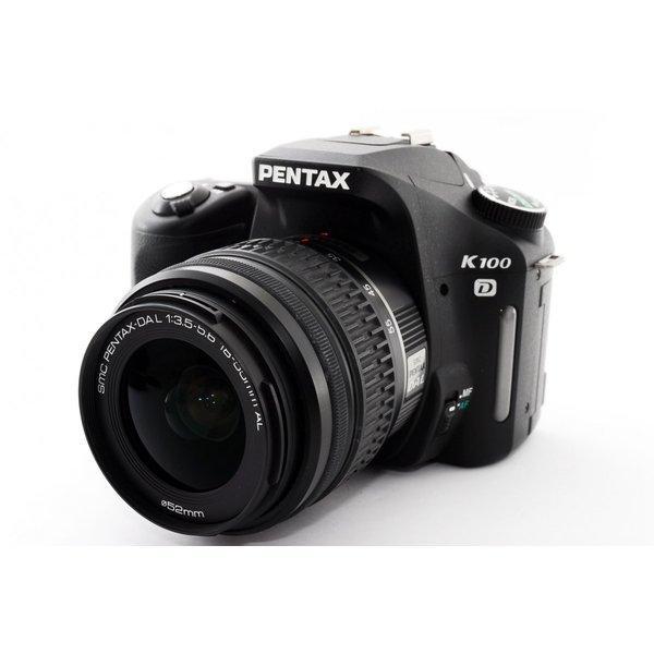 Pentax K100D レンズキット ブラック★極上美品★手ぶれに強い!8GB新品SDカード付き!