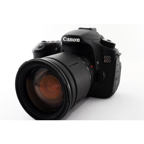 キヤノン Canon EOS 60D 高倍率ズームレンズセット 極上美品 元箱、新品SDカード付き