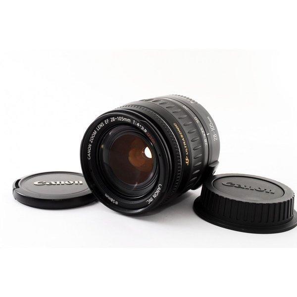キヤノン CANON EF 28-105mm F4-5.6 USM 美品 キヤノンEFマウント 望遠ズーム 交換レンズ