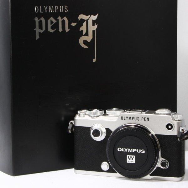 オリンパス OLYMPUS Pen F ボディ ミラーレス一眼 極上美品 時代を超えて愛される美しいデザイン 取扱説明書、ストラップ付き camera-fanksproshop