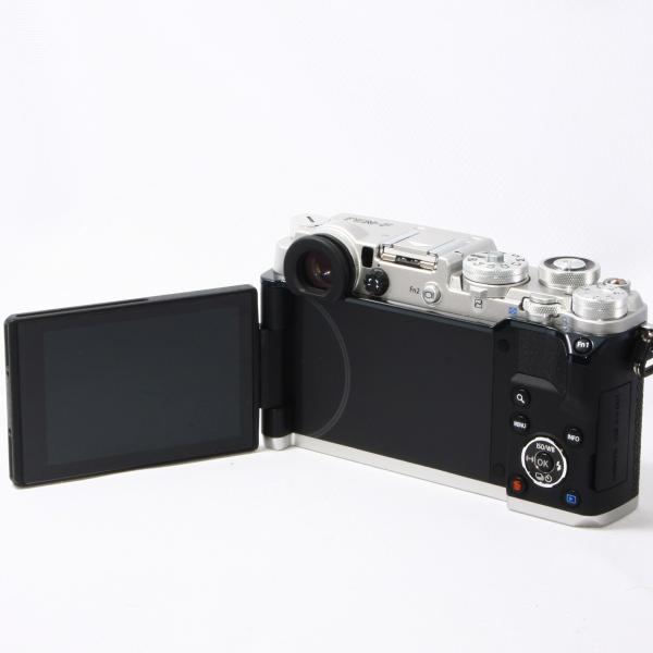 オリンパス OLYMPUS Pen F ボディ ミラーレス一眼 極上美品 時代を超えて愛される美しいデザイン 取扱説明書、ストラップ付き camera-fanksproshop 05
